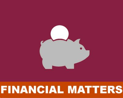 Financial matters icon